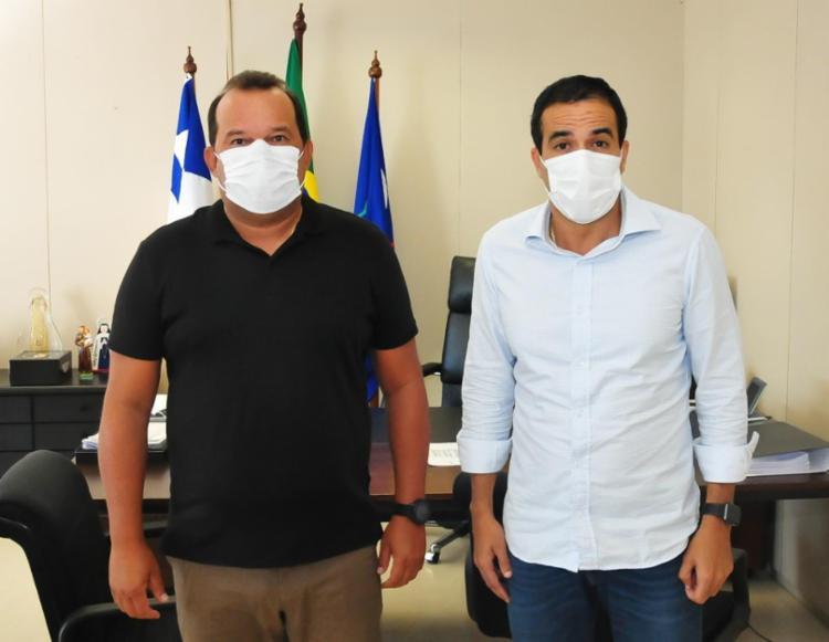 O encontro serviu para reforçar a parceria entre a Câmara e a Prefeitura na 'guerra' contra o coronavírus | Foto: Divulgação - Foto: Divulgação