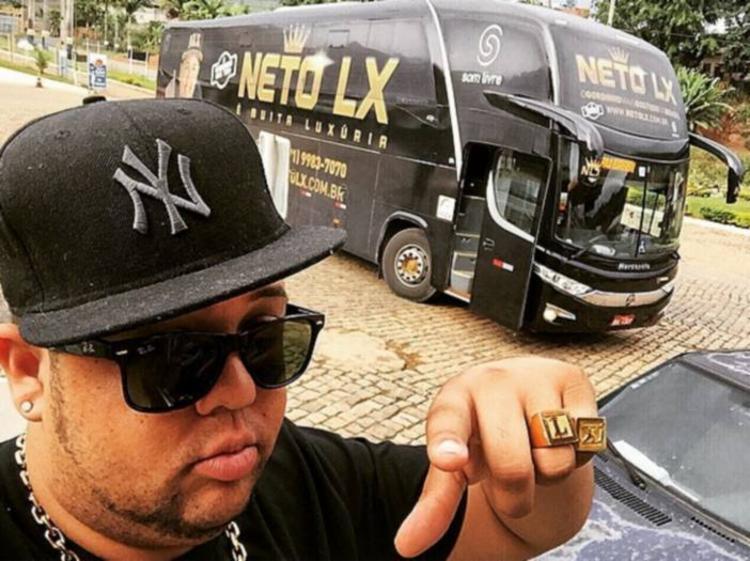 Cantor foi flagrado com veículo roubado | Foto: Divulgação - Foto: Divulgação