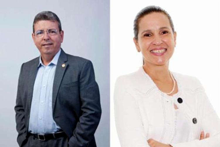 Carlos Gantois, coordenador, e Rosemma Maluf, vice-coordenadora, ambos do Núcleo das Micro, Pequenas e Médias Empresas | Foto: Divulgação - Foto: Divulgação
