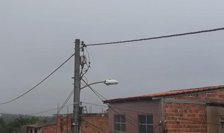 Céu nublado nesta quarta-feira   Foto: Reprodução   Cidadão Repórter - Foto: Reprodução   Cidadão Repórter