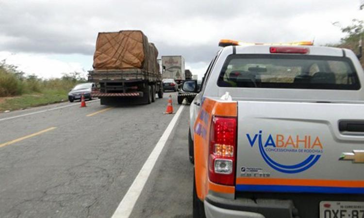 Conforme a Concessionária Via Bahia, serão realizadas obras de manutenção - Foto: Divulgação