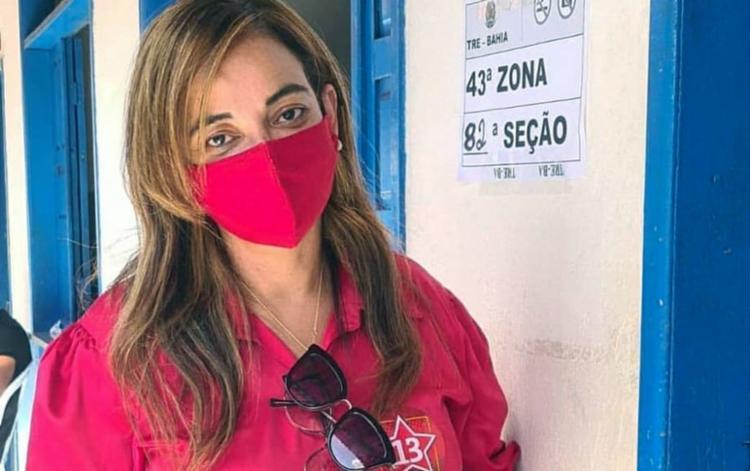 A prefeita Cibele Carvalho retirou a candidatura da presidência da UPB - Foto: Divulgação