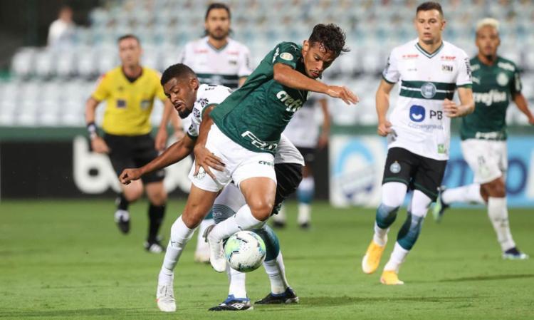 Gol da vitória foi marcado pelo lateral Jonathan | Foto: César Greco | SE Palmeiras - Foto: César Greco | SE Palmeiras