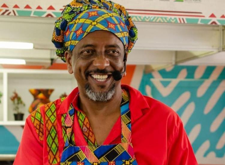 Afrochefe Jorge Washington comanda segunda edição online do evento | Foto: Divulgação - Foto: Divulgação