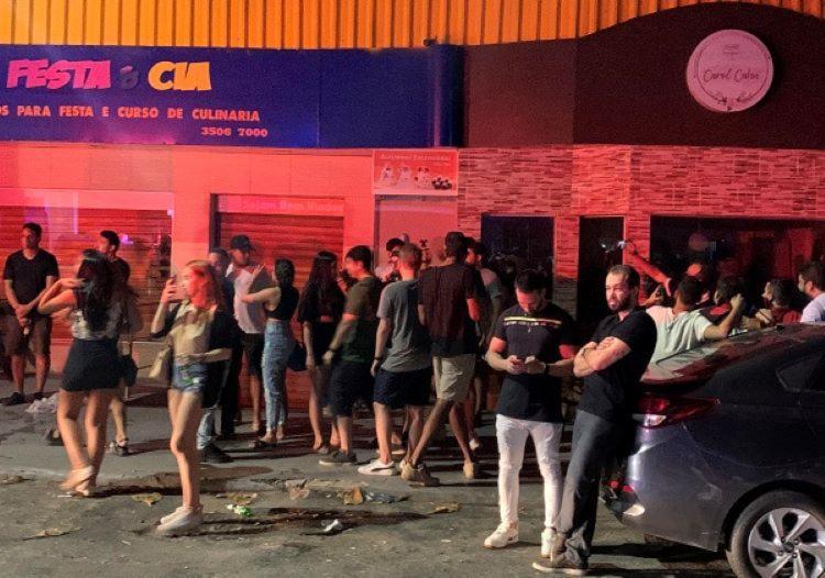 Maior parte das ligações foi de solicitação de fiscalização de bares com aglomeração e atividade sonora - Foto: Divulgação I Sedur