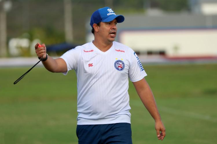 Clube e treinador negociam permanência no comando técnico | Foto: Felipe Oliveira | E.C.Bahia - Foto: Felipe Oliveira | E.C.Bahia