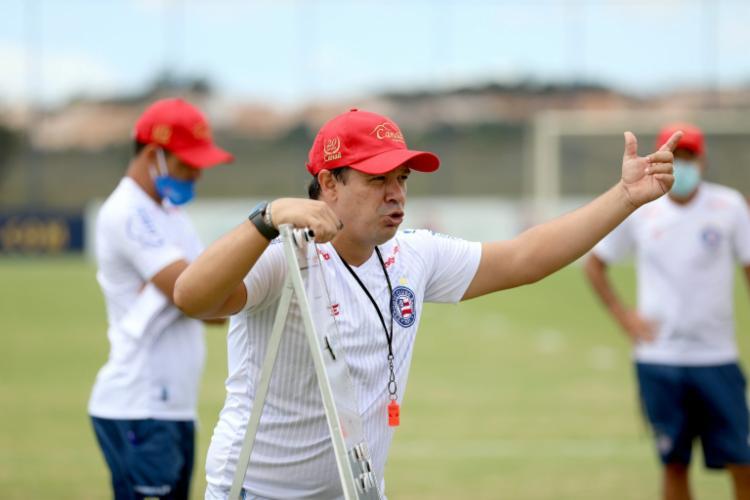 Treinador afirma que time está vivo no Brasileirão | Foto: Felipe Oliveira | E.C.Bahia - Foto: Felipe Oliveira | E.C.Bahia