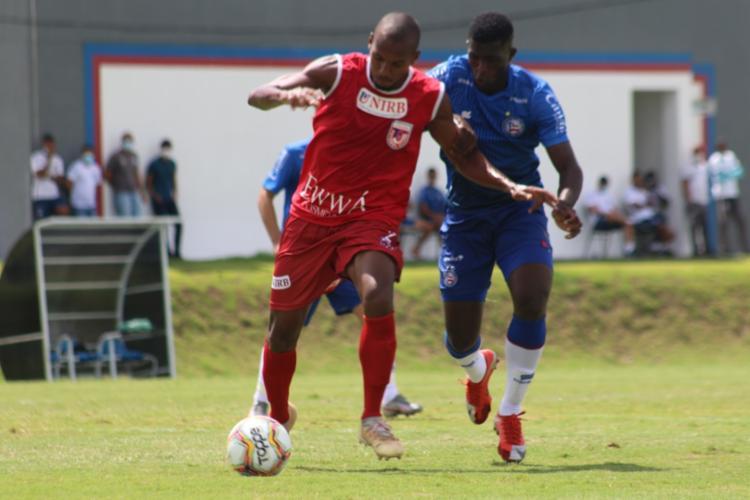 O aspirantes do Bahia venceram o Unirb pelo placar de 1 a 0, gol marcado pelo meio-campista Jeremias | Fotos: Bruno Queiroz | EC Bahia
