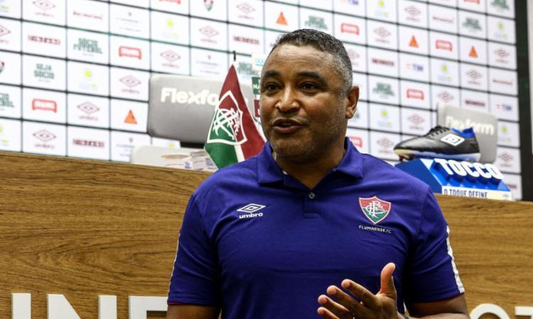 Treinador assinou contrato de dois anos com clube carioca | Foto: Lucas Mercon | Fluminense F.C. - Foto: Lucas Mercon | Fluminense F.C.