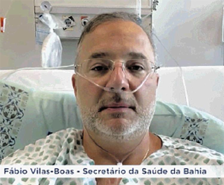Fábio Vilas-Boas, do hospital: 'Temos que evitar o contágio'   Foto: Reprodução   Instagram - Foto: Reprodução   Instagram
