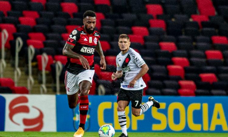 Rubro-Negro faz 2 a 0 e chega aos 64 pontos, dois atrás dos gaúchos | Foto: Marcelo Cortes | CR Flamengo - Foto: Marcelo Cortes | CR Flamengo