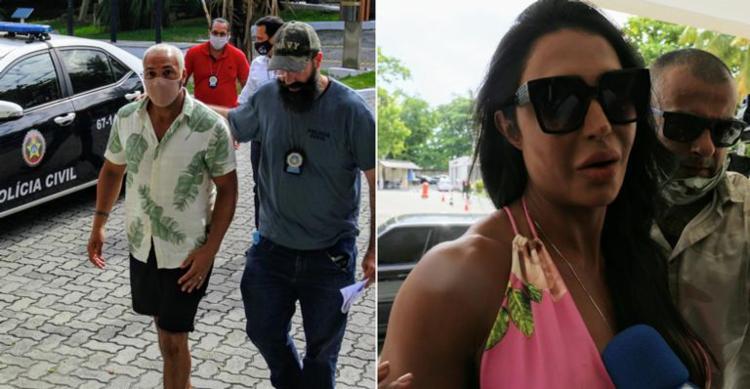 Horas após a notícia da prisão, Gracyanne chegou a usar suas redes sociais para falar sobre o assunto I Foto: AGNews - Foto: AGNews