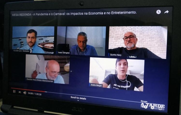 Bate-papo segue disponível no canal do Grupo A TARDE no YouTube | Foto: Gisele Souza | Ag. A TARDE - Foto: Gisele Souza | Ag. A TARDE