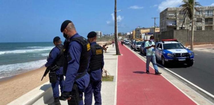 A GCM também prosseguirá com a Operação Maré de Março, que vai fiscalizar a proibição do acesso às praias I Foto: Divulgação - Foto: Divulgação