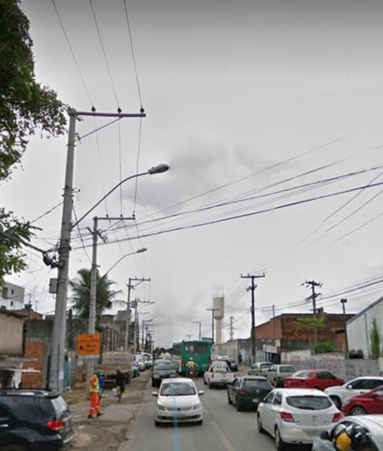 Crime aconteceu na manhã desta terça-feira   Foto: Reprodução   Google Street View - Foto: Reprodução   Google Street View