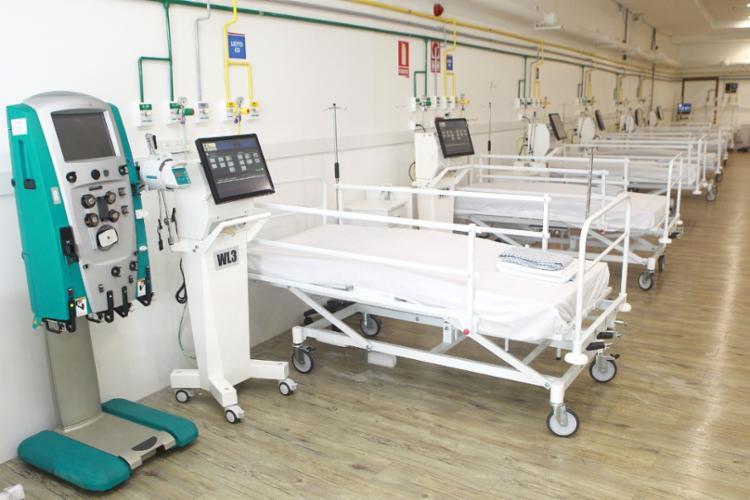 Hospital de campanha na Arena Fonte Nova será reativado nos próximos dias / Foto: Mateus Pereira | GOVBA - Foto: Mateus Pereira | GOVBA