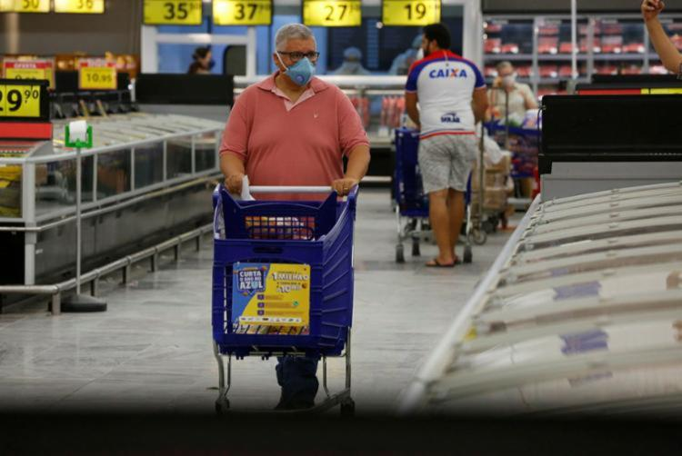 Inflação oficial do país apresentou resultado que trouxe menor índice mensal desde agosto de 2020 | Foto: Rafael Martins | Ag. A TARDE - Foto: Rafael Martins | Ag. A TARDE