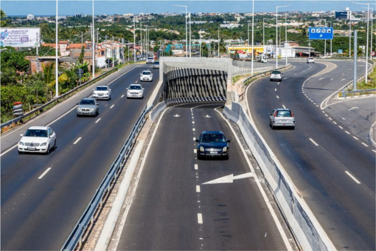 Interdição ocorre para a realização de obras para reparo do pavimento - Foto: Divulgação