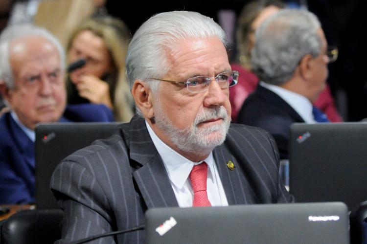 O senador Jaques Wagner será o indicado do PT para a corrida eleitoral ao governo da Bahia em 2022. - Foto: Divulgação