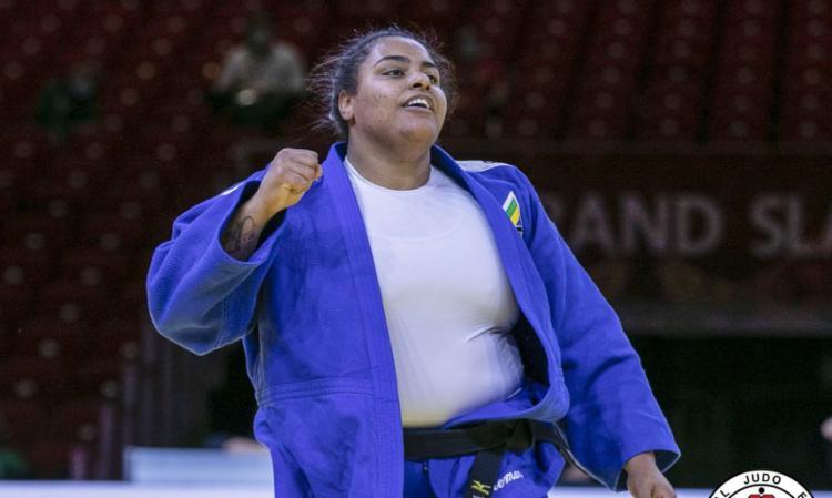 Atleta ficou com o bronze no último dia do Grand Slam de Tel Aviv - Foto: Gabriela Sabau | IJF