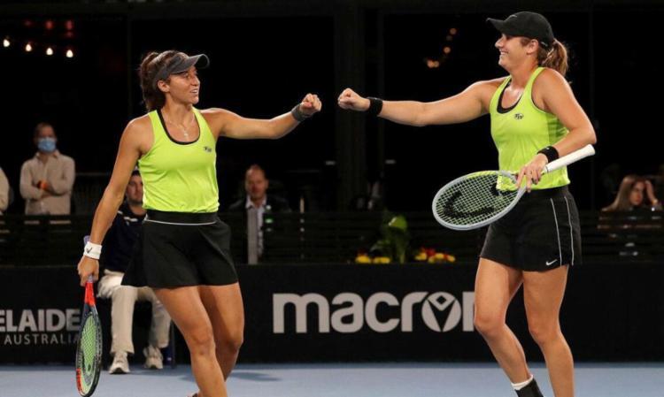 Parceria Brasil-EUA disputa título na madrugada deste sábado, 27 | Foto: WTA | Divulgação - Foto: WTA | Divulgação