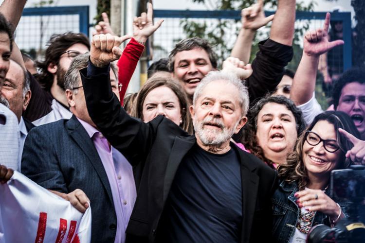 Os diálogos ocorreram em março de 2016, quando Lula teve sua nomeação para ministro-chefe da Casa Civil suspensa pelo ministro do STF | Foto: Gibran Mendes | CUT | 8.11.2019 - Foto: Gibran Mendes | CUT | 8.11.2019