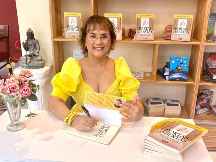 Mestre em educação e escritora Maria Dolores Fiúza participou do 'Isso é Bahia' | Foto: Divulgação - Foto: Divulgação