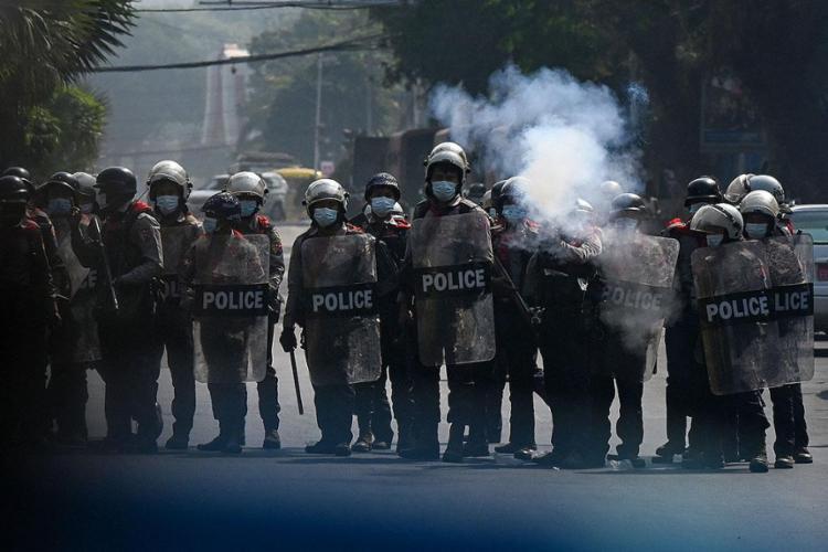 Desde 1º de fevereiro, forças de segurança mataram 520 civis | Foto: Ye Aung THU | AFP - Foto: Ye Aung THU | AFP
