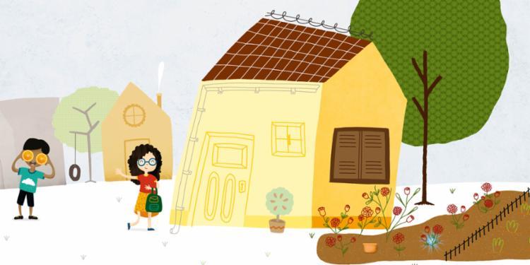Livro conta história de Lia, uma menina que conversava com seu sonho - Foto: Divulgação