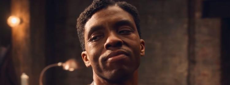 Chadwick Boseman foi reconhecido por seu trabalho em A Voz Suprema do Blues - Foto: Divulgação   Netflix