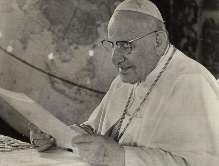 Papa João Paulo XXIII convocou concílio em 1959 | Foto: Cedoc A TARDE - Foto: Cedoc A TARDE