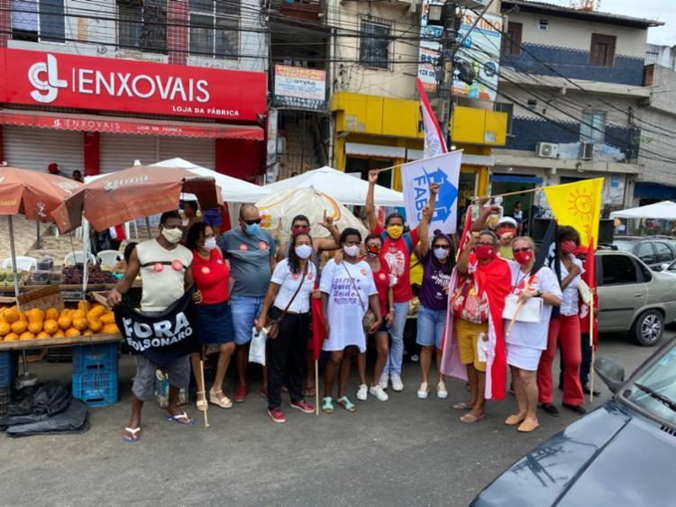 Mobilizações foram realizadas neste domingo, 7, em diversas áreas da capital | Foto: Divulgação - Foto: Divulgação
