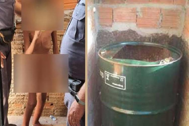 Perícia foi realizada em 30 de janeiro, mesma data em que caso foi descoberto pela Polícia Militar. - Foto: Reprodução