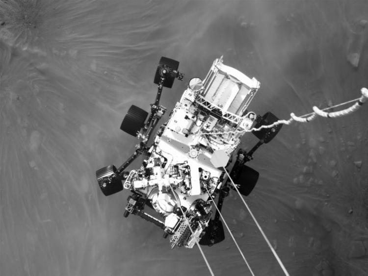 Sons da atmosfera, imagens em 360 graus e enigmas chamaram a atenção | Foto: NASA | JPL-Caltech | ASU - Foto: NASA | JPL-Caltech | ASU