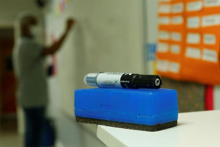 O grupo acredita que há condições sanitárias para o retorno dos estudantes às escolas. Foto: Rafael Martins   Ag. A TARDE - Foto: Rafael Martins   Ag. A TARDE   20.11.2020