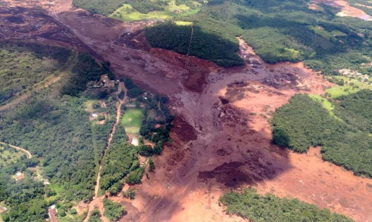 Empresa começou a perfurar uma área crítica da barragem cinco dias antes da ruptura, concluiu perícia da Polícia Federal I Foto: Agência Brasil - Foto: Agência Brasil