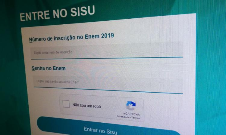 Procedimentos devem ser feitos pelo site Sisu Gestão   Foto: Agência Brasil - Foto: Agência Brasil