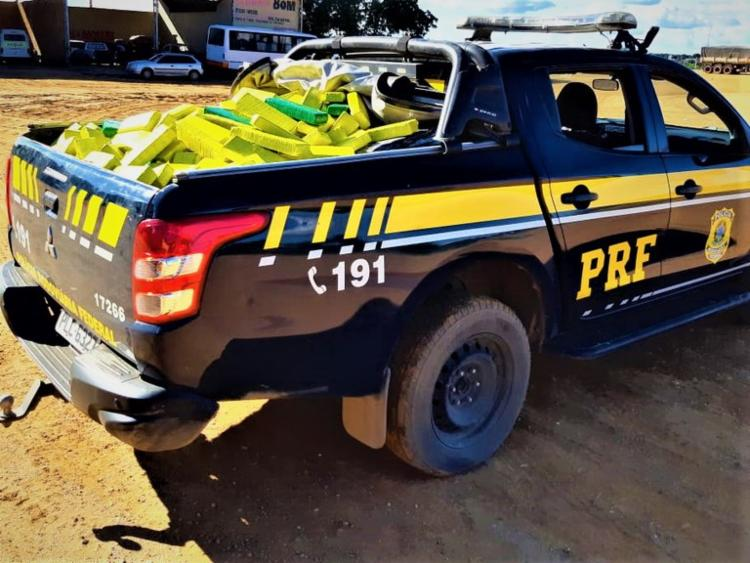 13 toneladas de drogas foram apreendidas pela PRF na Bahia em 2020 | Foto: Divulgação | PRF - Foto: Divulgação | PRF