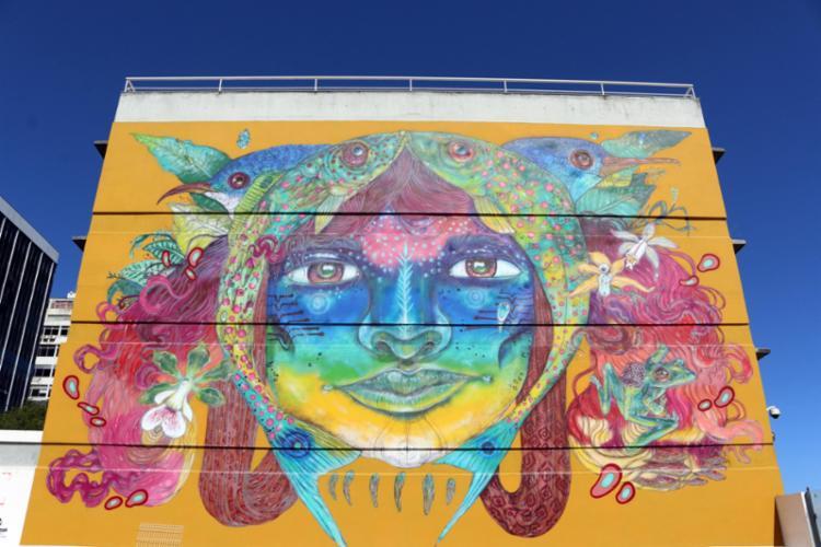 Estão contemplados artistas visuais que utilizam diferentes técnicas, como graffiti, pintura, entre outros - Foto: Divulgação