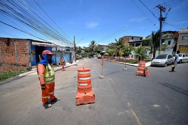De acordo com titular da Seinfra, as obras devem ser concluídas no próximo mês | Foto: Jefferson Peixoto | Secom - Foto: Jefferson Peixoto | Secom