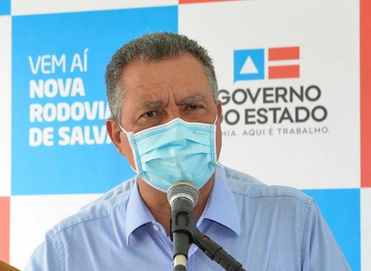 Governador disse que entraves federais impediram chegada do imunizante | Foto: Shirley Stolze | Ag. A TARDE - Foto: Shirley Stolze | Ag. A TARDE