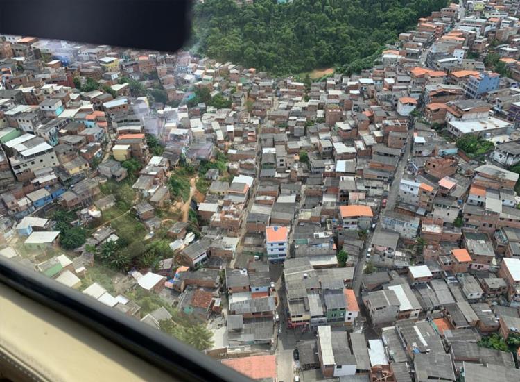 Infraestruturas foram verificadas em mais de 3h de voo | Foto: Divulgação | Secom - Foto: Divulgação | Secom