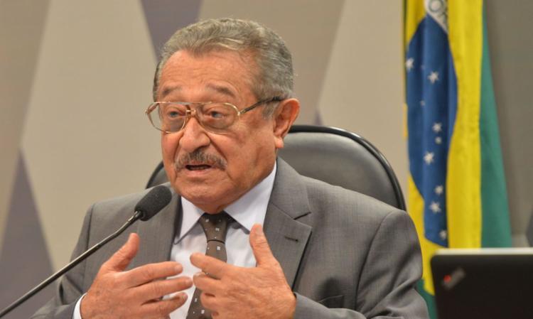 Senador José Maranhão morreu em razão de complicações da covid-19   Foto: Antonio Cruz   Agência Brasil - Foto: Antonio Cruz   Agência Brasil