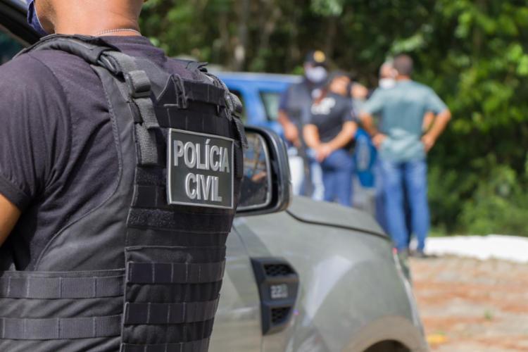 Suspeitos foram capturados por equipes da 12ª Delegacia Territorial | Foto: Divulgação | Polícia Civil - Foto: Divulgação | Polícia Civil