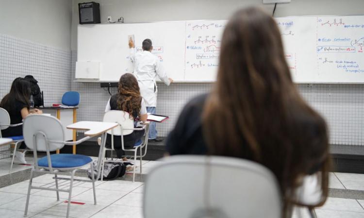 O motivo é a volta às aulas em meio à pandemia de covid-19 | Foto: Studio Formatura | Galois - Foto: Studio Formatura | Galois