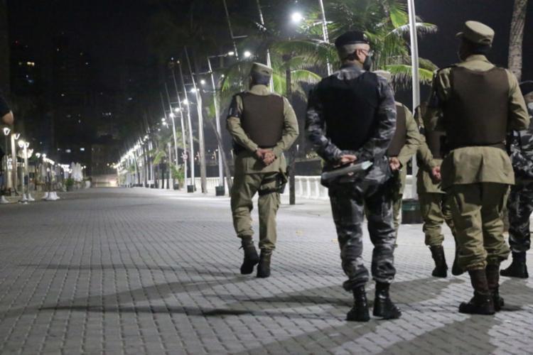 Polícias Militar e Civil têm atuado para cobrar cumprimento do decreto / Foto: Alberto Maraux   SSP - Foto: Alberto Maraux   SSP