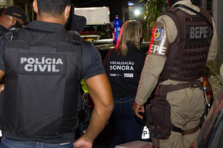 Até agora 58 pessoas foram autuadas por descumprimento do decreto estadual | Foto: Ascom-PC | Haeckel Dias - Foto: Ascom-PC | Haeckel Dias
