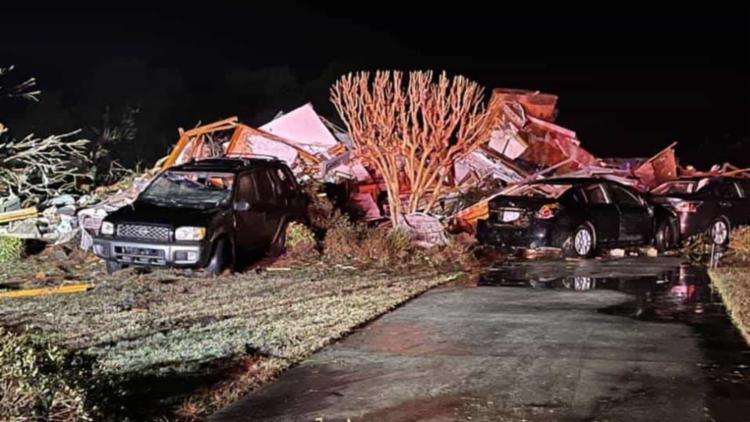 Xerife local disse que nunca viu situação parecida e que a recuperação vai demorar I Foto: Rede Social - Foto: Rede Social