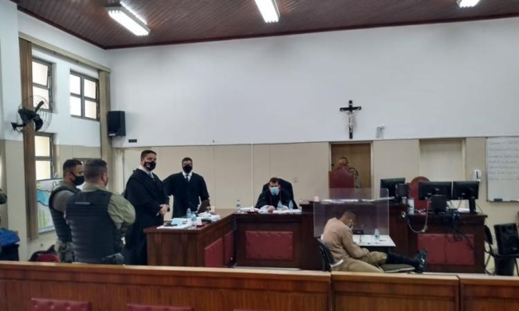 Presos são acusados de participação nas 17 mortes ocorridas na chacina do dia 13 de agosto de 2015 - Foto: Divulgação: Tribunal de São Paulo