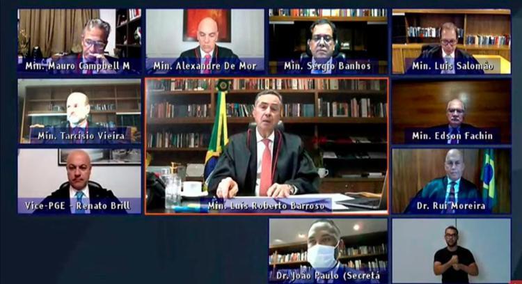 Presidente do tribunal fez um balanço das eleições municipais de 2020 | Foto: Divulgação | Ascom-TSE - Foto: Divulgação | Ascom-TSE